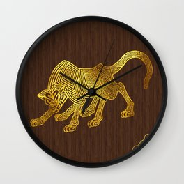 Ilvermorny Wampus Wall Clock