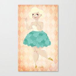 Untitled (Cupcake Dress) Canvas Print