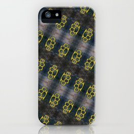 Brass Knuckles Pattern iPhone Case
