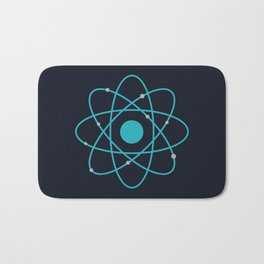 Atom, Molecules, DNA, Science decor, science class Bath Mat