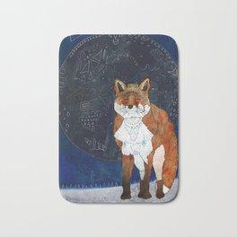 Lunar Kitsune Bath Mat