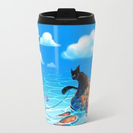 A hot summers day Travel Mug