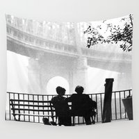manhattan Wall Tapestries featuring MANHATTAN by VAGABOND