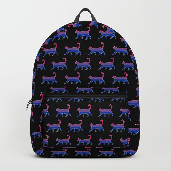 Bi Pride Cat Backpack
