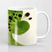 kiwi Mugs featuring Kiwi by Ekaterina Koroleva
