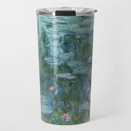 Monet, Water Lilies, Nympheas, Seerosen, 1915 Travel Mug