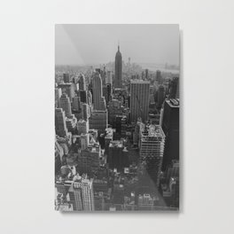 New York City Print Metal Print