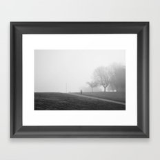 One morning Framed Art Print