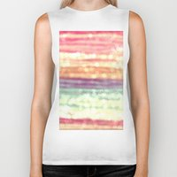 pastel Biker Tanks featuring Pastel  by WhimsyRomance&Fun