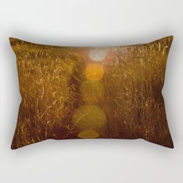 into the sun Rectangular Pillow