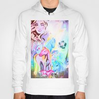 carousel Hoodies featuring carousel by Charlie L'amour
