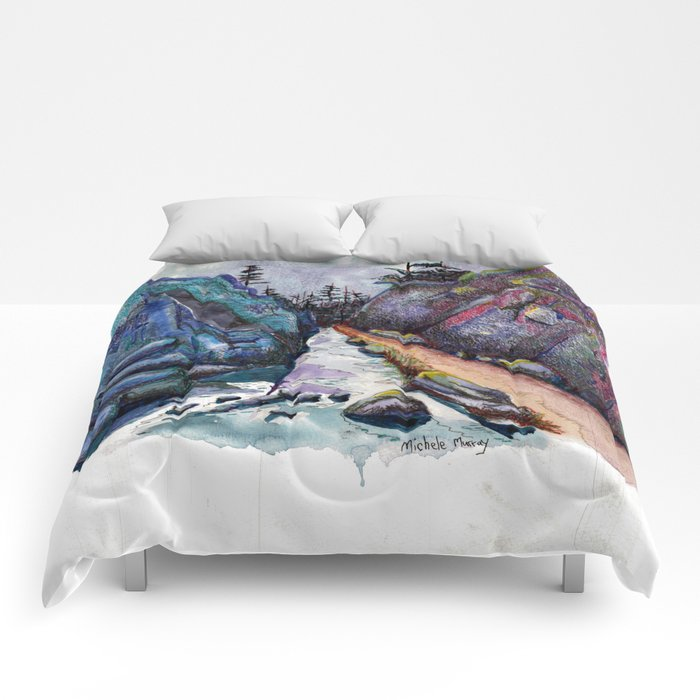 Eleven Mile Canyon, Colorado Comforters