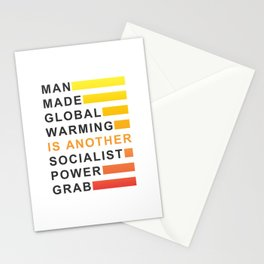 Socialist Power Grab Stationery Cards
