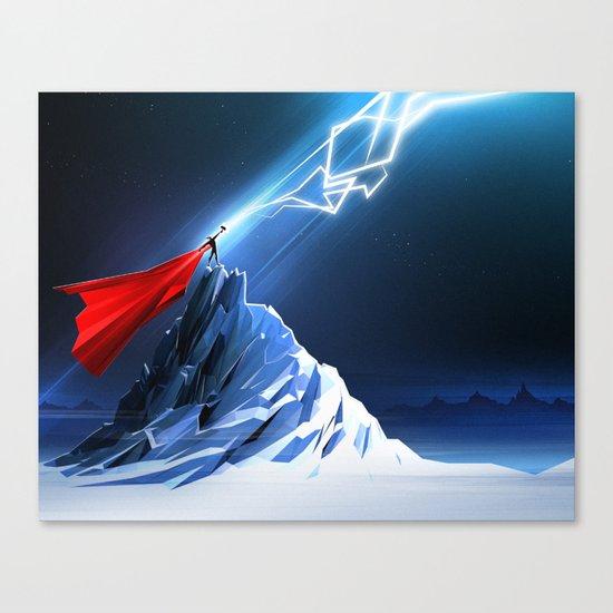 Odin's Son Canvas Print