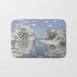 The Winter Reflection Bath Mat