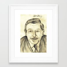 Walt Disney Framed Art Print