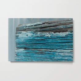 Blue Wood - Seattle, WA Metal Print