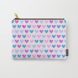 Colorful hearts VII Carry-All Pouch