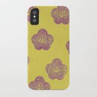 sakura iPhone & iPod Cases featuring Sakura by sinonelineman