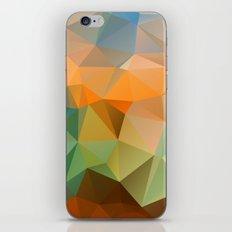 Colored polygon pattern. iPhone & iPod Skin
