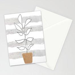 Scandi Plant Stationery Cards