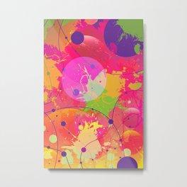Colorful Drama Metal Print