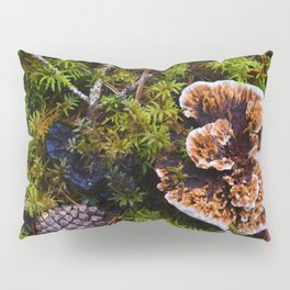 Understory of an Old Growth Lodgepole Pine Forest in Jasper National Park, Canada Pillow Sham