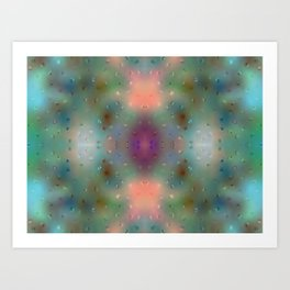 Abstract Dream - Dots Art Print