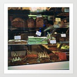 French Bakery  Art Print