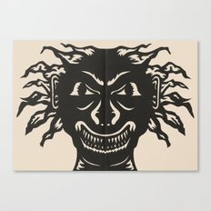 Extremely Sharp Teeth Canvas Print