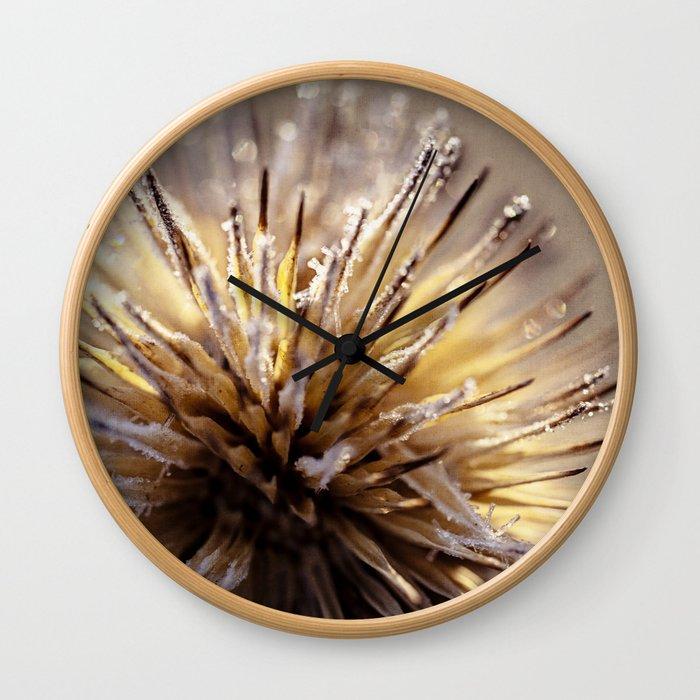 burst of light Wall Clock