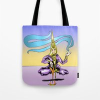 alchemy Tote Bags featuring Alchemy  by Daniel McGuiness