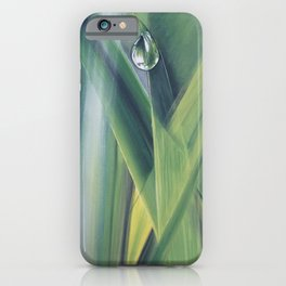 A drop of water iPhone Case