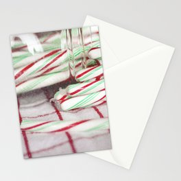 Candy Canes Stationery Cards