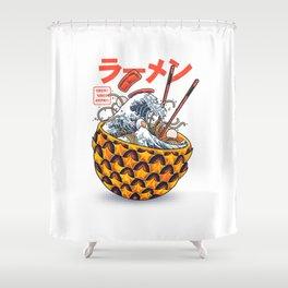 Great vibes ramen Shower Curtain