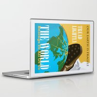 propaganda Laptop & iPad Skins featuring Conservation Propaganda by Teighlor Made Art & Design