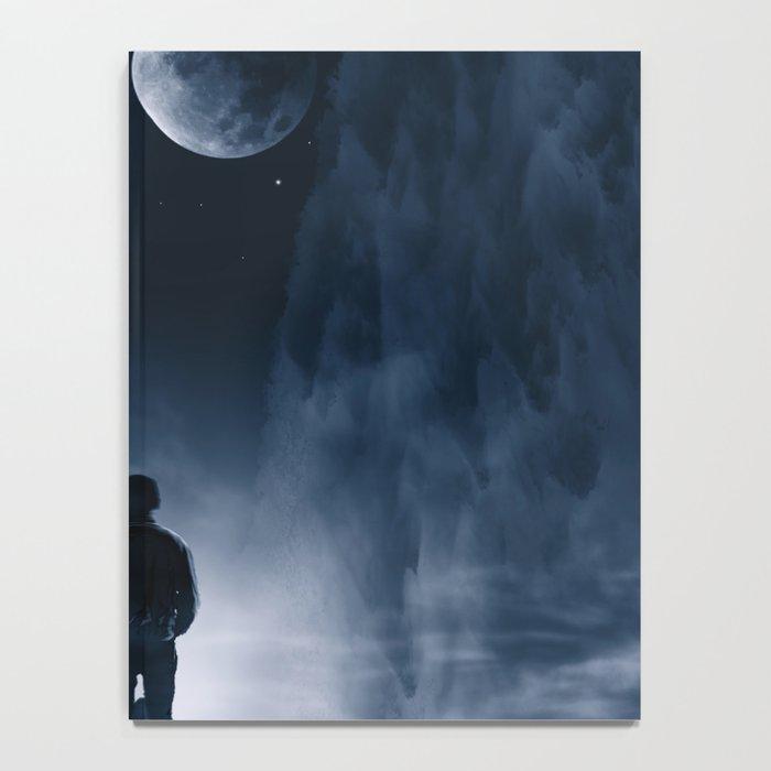 Blue Dream Night Notebook