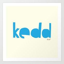days | kedd Art Print