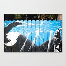 Humpback Fence Canvas Print
