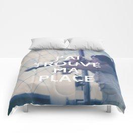 Paris (J'ai trouvé ma place) Comforters
