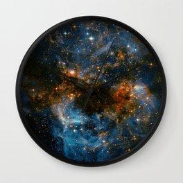Galaxy Storm Wall Clock