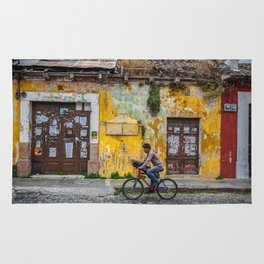 Antigua by bicycle Rug