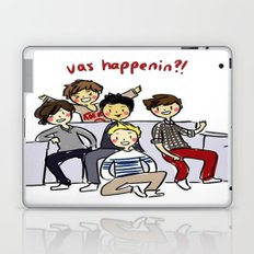 One Direction 'Vas Happenin' Cartoon Laptop & iPad Skin