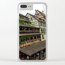 Petit France Strasbourg Clear iPhone Case