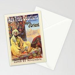 Vintage Paris Oriental Carpets store advertising Stationery Cards