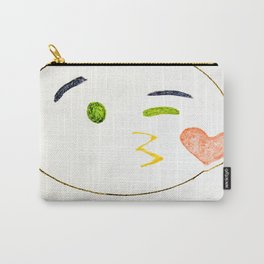 Kiss Emoji Carry-All Pouch