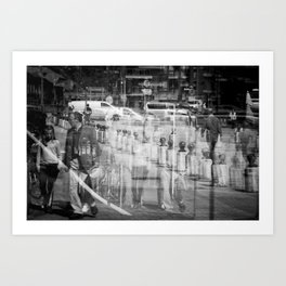 Reflecting I Art Print
