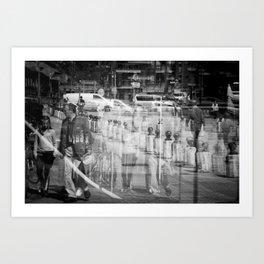 Reflecting I Art Print