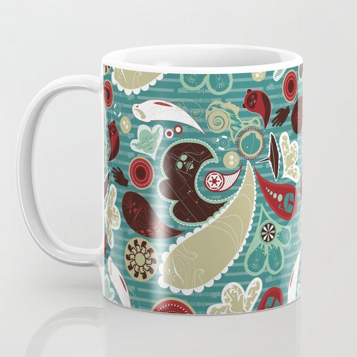 A Long Time Ago In A Paisley Far Far Away Coffee Mug