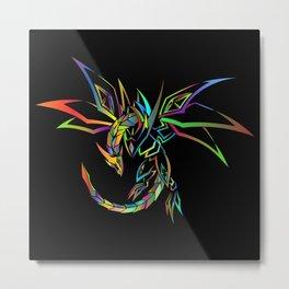 Cool Colorful Kites Metal Print